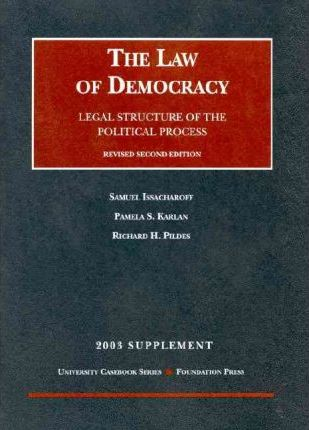 2003 Supplement to Law of Democracy