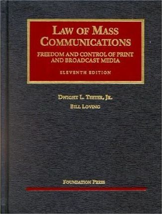 Teeter and Loving's Law of Mass Communications