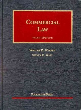 Commercial Law 6th