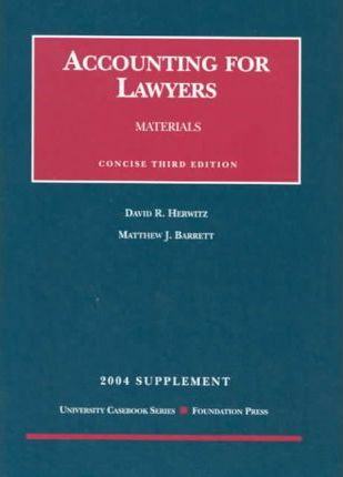 Accounting For Lawyers 2004