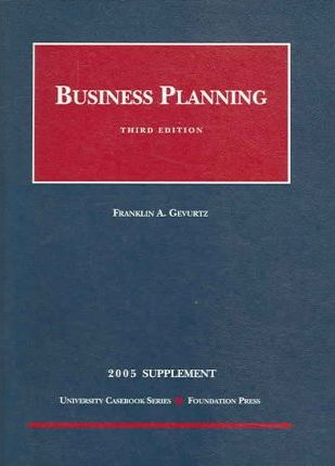 Business Planning 2005