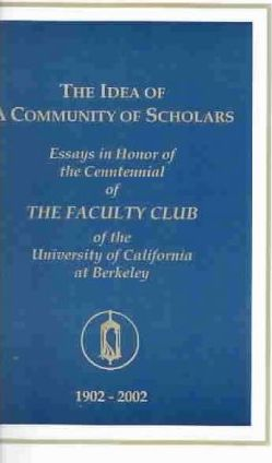 The Idea of a Community of Scholars
