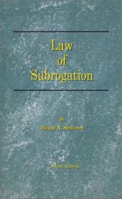 The Law of Subrogation