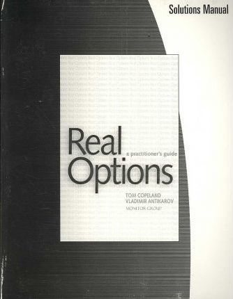SM, Real Options-Practnrs Gde