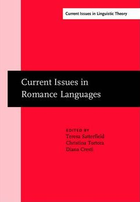 Current Issues in Romance Languages