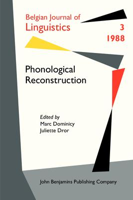 Phonological Reconstruction