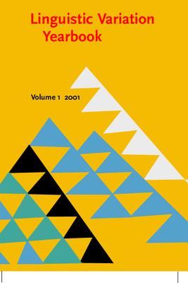 Linguistic Variation Yearbook 2001