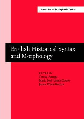 English Historical Syntax and Morphology