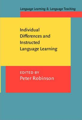 Individual Differences and Instructed Language Learning
