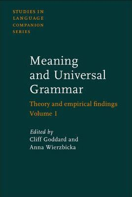 Meaning and Universal Grammar
