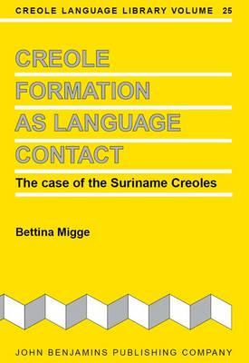 Creole Formation as Language Contact