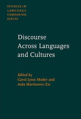 Discourse Across Languages and Cultures