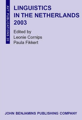 Linguistics in the Netherlands 2003