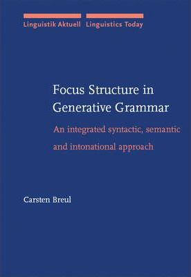 Focus Structure in Generative Grammar