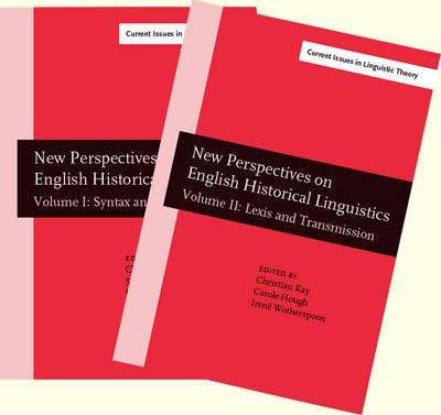 New Perspectives on English Historical Linguistics