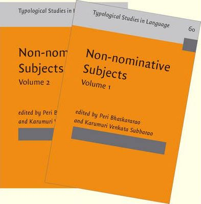Non-Nominative Subjects: Volumes 1 and 2