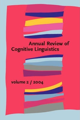 Annual Review of Cognitive Linguistics