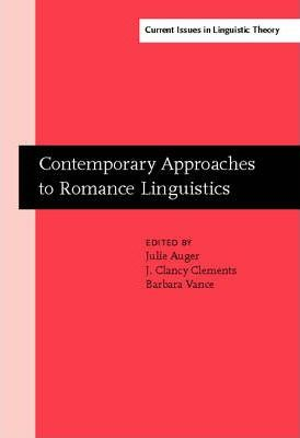 Contemporary Approaches to Romance Linguistics