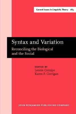 Syntax and Variation