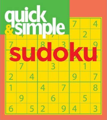 Quick and Simple Sudoku
