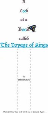 A Look at a Book Called the Voyage of Kings