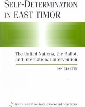 Self-determination in East Timor
