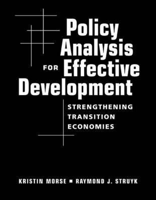 Policy Analysis for Effective Development