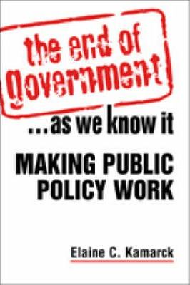The End of Government... as We Know it