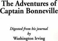 Adventures of Captain Bonneville
