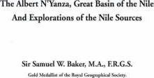 Albert N'Yanza, Great Basin of the Nile and Explorations of the Nile Sources
