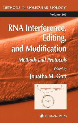 RNA Interference, Editing, and Modification