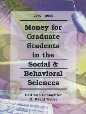 Money for Graduate Students in the Social & Behavioral Sciences