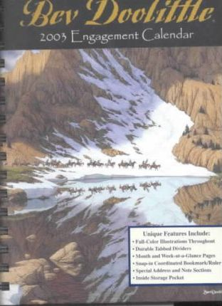 Bev Doolittle 2003 Engagement Calendar