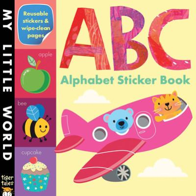 ABC Alphabet Sticker Book : Fhiona Galloway : 9781589254459