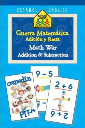 Math  War Addition & Subtraction/ Guerra Matematica Adicion y Resta