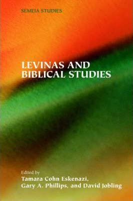 Levinas and Biblical Studies