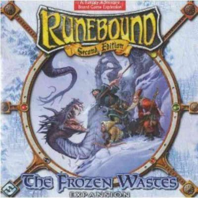 Runebound: The Frozen Wastes Board Game