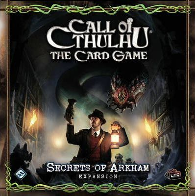 Call of Cthulhu Card Game Secrets of Arkham Expansion