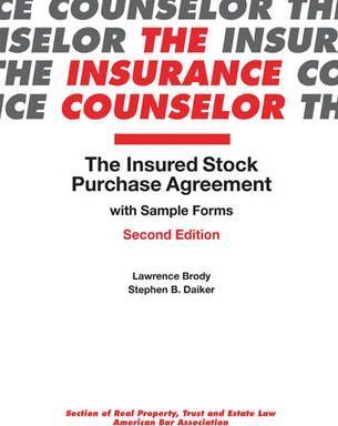 The Insured Stock Purchase Agreement With Sample Form