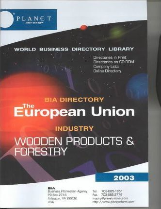The European Union Bia Directory 2003