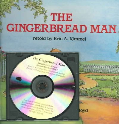 Gingerbread Man The 1 Hardcover1 Cd With Hardcover Book Eric