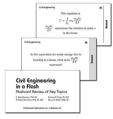 Civil Engineering in a Flash : Bruce A Wolle : 9781591260318