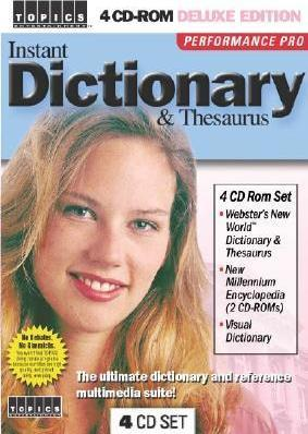 Instant Dictionary & Thesaurus
