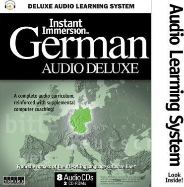 Instant Immersion German Audio Deluxe