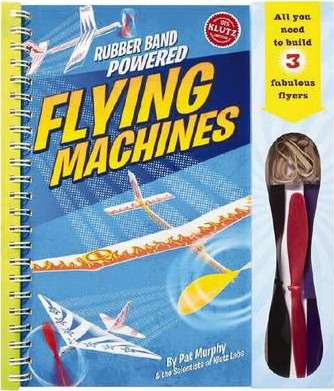 Rubber-band-powered Flying Machines Pack 6
