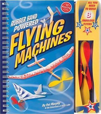 Rubber-Band-Powered Flying Machines