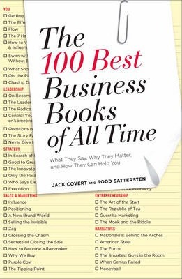 The 100 Best Business Books Of All Time Jack Covert 9781591844464