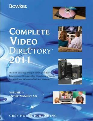 Bowkers Complete Video Directory 4 Volume Set 2011