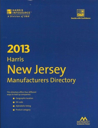 Harris New Jersey Manufacturers Directory 2013
