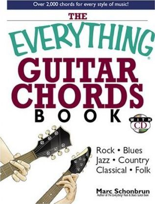 Everything Guitar Chords Book with CD : Marc Schonbrun : 9781593375294